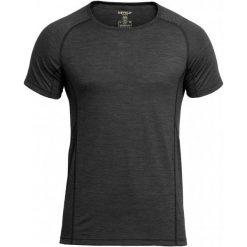 Devold Męski T-Shirt Anthracite L. Czarne t-shirty męskie Devold, z dzianiny. Za 335.00 zł.
