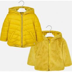 Mayoral - Kurtka dziecięca dwustronna 92-134 cm. Żółte kurtki i płaszcze dla dziewczynek Mayoral, z materiału. Za 239.90 zł.