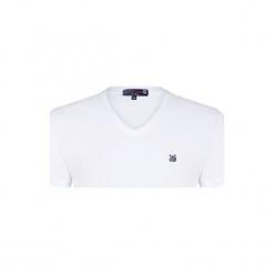 Giorgio Di Mare T-Shirt Męski L Biały. Białe t-shirty męskie Giorgio di Mare. W wyprzedaży za 71.90 zł.