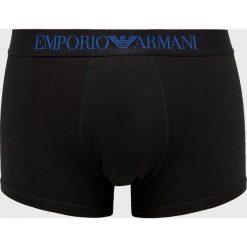 Emporio Armani - Bokserki. Czarne bokserki męskie Emporio Armani, z bawełny. Za 139.90 zł.