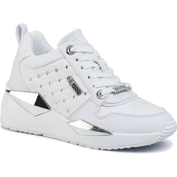 Sneakersy GUESS Tallya FL5TAL ELE12 WHITE