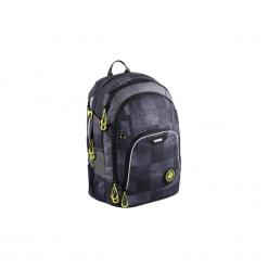 Plecak RayDay, kolor: Mamor Check, system MatchPatch. Szare torby i plecaki dziecięce HAMA, z tkaniny. Za 334.99 zł.