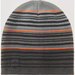 Czapka - Szary. Szare czapki i kapelusze męskie marki Giacomo Conti, na zimę, z tkaniny. W wyprzedaży za 19.99 zł.
