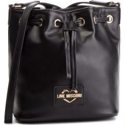 Torebka LOVE MOSCHINO - JC4065PP17LG0000 Nero. Czarne torebki do ręki damskie Love Moschino, ze skóry ekologicznej. Za 879.00 zł.