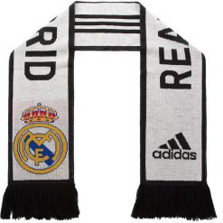 Szal adidas - Real Scarf CY5602 Cwhite/Black. Białe szaliki i chusty damskie Adidas, z materiału. Za 79.95 zł.