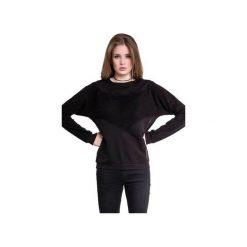 BLUZA NIETOPERZ - CZARNA. Czarne bluzy damskie Heroesque, z bawełny. Za 229.00 zł.