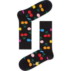 Happy Socks - Skarpetki Cherry. Czerwone skarpety damskie Happy Socks, z bawełny. Za 39.90 zł.
