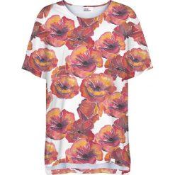 Colour Pleasure Koszulka damska CP-033 279 biało-czerwona r. uniwersalny. Bluzki damskie Colour Pleasure. Za 76.57 zł.