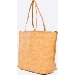 Pepe Jeans - Torebka dwustronna Adonis. Pomarańczowe torby na ramię damskie Pepe Jeans. W wyprzedaży za 179.90 zł.