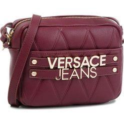 Torebka VERSACE JEANS - E1VSBBL4-70712 331. Czerwone listonoszki damskie Versace Jeans, z jeansu. W wyprzedaży za 429.00 zł.