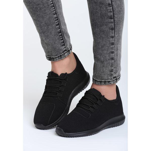 ad462f9d Czarne Buty Sportowe Come Down - Czarne obuwie sportowe damskie ...