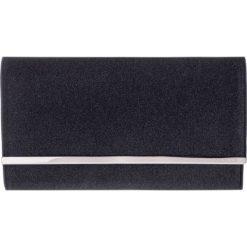 Czarna brokatowa torebka QUIOSQUE. Czarne torby na ramię damskie QUIOSQUE. W wyprzedaży za 49.99 zł.