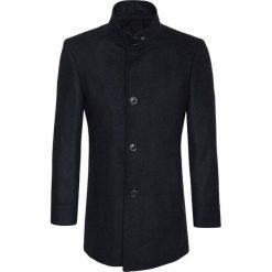 Płaszcz FLORIANO 15-26WK. Czarne płaszcze męskie Giacomo Conti, z tkaniny, klasyczne. Za 999.00 zł.