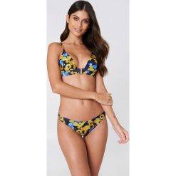 NA-KD Swimwear Dół od bikini - Blue,Multicolor,Yellow. Niebieskie bikini damskie NA-KD Swimwear. Za 19.95 zł.