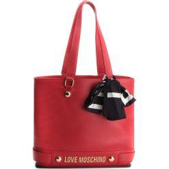 Torebka LOVE MOSCHINO - JC4312PP06KU0001  Rosso. Czerwone torebki do ręki damskie Love Moschino, ze skóry ekologicznej. W wyprzedaży za 559.00 zł.