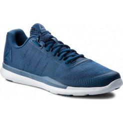 Buty Reebok - Sprint Tr CN4895 Blue/White. Niebieskie buty sportowe męskie Reebok, z materiału. W wyprzedaży za 229.00 zł.