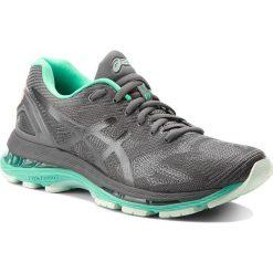 Buty ASICS - Gel-Nimbus 19 Lite-Show T7C8N Dark Grey/Black/Reflective 9590. Szare obuwie sportowe damskie Asics, z materiału. W wyprzedaży za 389.00 zł.