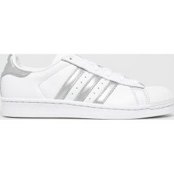 Adidas Originals - Buty Superstar. Szare obuwie sportowe damskie adidas Originals, z gumy. Za 399.90 zł.