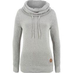 Sweter bonprix jasnoszary melanż. Szare swetry damskie bonprix. Za 89.99 zł.