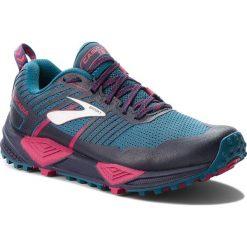 Buty BROOKS - Cascadia 13 120274 1B 449 Ink/Navy/Pink. Niebieskie obuwie sportowe damskie Brooks, z materiału. Za 549.00 zł.