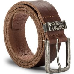 Pasek Męski TOMMY JEANS - Tjm Loop Belt 4.0 AM0AM03364 85 257. Brązowe paski damskie Tommy Jeans, w paski, z jeansu. W wyprzedaży za 139.00 zł.