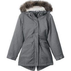 Kurtka outdoorowa bonprix dymny szary. Kurtki i płaszcze dla dziewczynek marki Pulp. Za 189.99 zł.