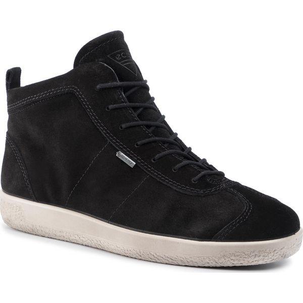 Sneakersy ECCO Soft 1 GORE TEX 40067405001 Black