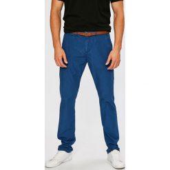 Guess Jeans - Spodnie. Szare eleganckie spodnie męskie Guess Jeans, z bawełny. W wyprzedaży za 269.90 zł.