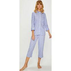 Lauren Ralph Lauren - Piżama. Szare piżamy damskie Lauren Ralph Lauren, z bawełny. W wyprzedaży za 369.90 zł.