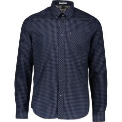 """Koszula """"Gingham"""" - Regular fit - w kolorze granatowo-czarnym. Czarne koszule męskie Ben Sherman, w kratkę, z bawełny, button down. W wyprzedaży za 130.95 zł."""