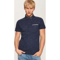 Koszulka polo - Granatowy. Niebieskie koszulki polo męskie House. Za 59.99 zł.