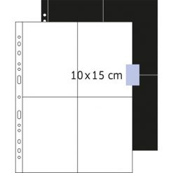 Herma Koszulki na dokumenty 100 x 150 mm / 250 sztuk (7562). Czarne t-shirty i topy dla dziewczynek Herma. Za 69.81 zł.