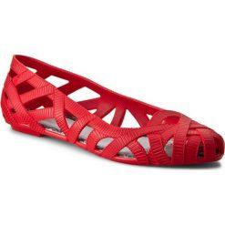 Półbuty MELISSA - Jw+Melissa Jean Ad 31557 Red/Grey 50876. Czerwone półbuty damskie Melissa, z gumy. W wyprzedaży za 229.00 zł.