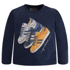 Koszulka w kolorze granatowym. T-shirty dla chłopców marki Reserved. W wyprzedaży za 44.95 zł.