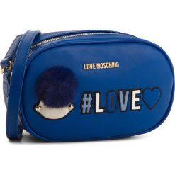 Torebka LOVE MOSCHINO - JC4069PP16LK0750 Blu. Niebieskie listonoszki damskie Love Moschino, ze skóry ekologicznej. W wyprzedaży za 449.00 zł.