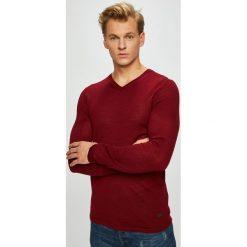 S. Oliver - Sweter. Brązowe swetry przez głowę męskie s.Oliver BLACK LABEL, z dzianiny. W wyprzedaży za 179.90 zł.
