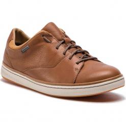Półbuty CLARKS - Norsen LaceGtx GORE-TEX 261361897 Dark Tan Leather. Brązowe półbuty na co dzień męskie Clarks, z gore-texu. W wyprzedaży za 409.00 zł.