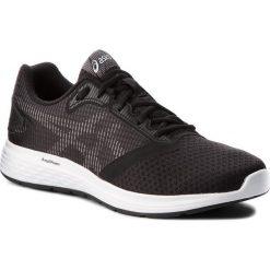 Buty ASICS - Patriot 10 1011A131  Black/White 001. Czarne buty sportowe męskie Asics, z materiału. W wyprzedaży za 189.00 zł.