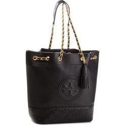 Torebka TORY BURCH - Fleming Bucket Bag 48895 Black 001. Czarne listonoszki damskie Tory Burch, ze skóry. W wyprzedaży za 1,469.00 zł.