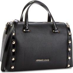 Torebka VERSACE JEANS - E1VSBBC2 70710 899. Czarne torebki do ręki damskie Versace Jeans, z jeansu. W wyprzedaży za 549.00 zł.