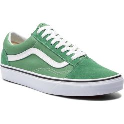 Tenisówki VANS - Old Skool VN0A38G1UKV1 Deep Grass Green/True Whi. Zielone trampki męskie Vans, z gumy. Za 319.00 zł.