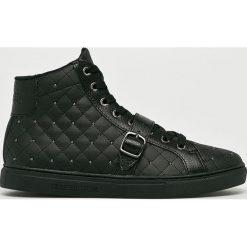 Trussardi Jeans - Buty. Czarne obuwie sportowe damskie TRUSSARDI JEANS, z jeansu. Za 599.90 zł.