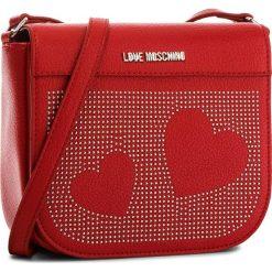 Torebka LOVE MOSCHINO - JC4114PP16LT0500  Ross. Czerwone listonoszki damskie Love Moschino, ze skóry ekologicznej. W wyprzedaży za 499.00 zł.