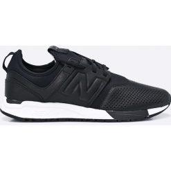 New Balance - Buty MRL247VE. Czarne buty sportowe męskie New Balance, z gumy. W wyprzedaży za 399.90 zł.