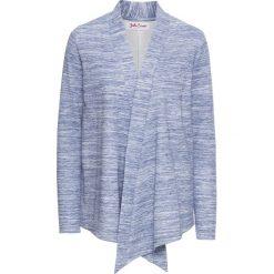 Bluza rozpinana z długim rękawem bonprix niebieski melanż. Bluzy damskie marki KALENJI. Za 37.99 zł.