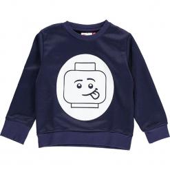 """Bluza """"Sebastian 706"""" w kolorze granatowym. Niebieskie bluzy dla chłopców marki Lego Wear Fashion, z nadrukiem, prążkowane. W wyprzedaży za 82.95 zł."""