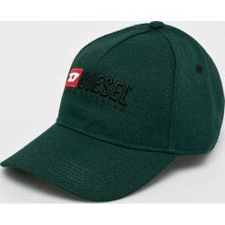 Diesel - Czapka. Czarne czapki i kapelusze damskie Diesel, z poliesteru. W wyprzedaży za 229.90 zł.