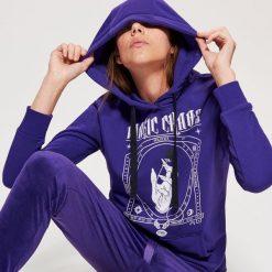 Bluza z motywem HALLOWEEN - Fioletowy. Fioletowe bluzy damskie Cropp. Za 69.99 zł.