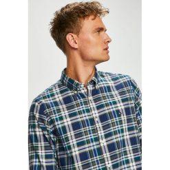 Tommy Hilfiger - Koszula. Szare koszule męskie Tommy Hilfiger, w kratkę, z bawełny, button down, z długim rękawem. Za 299.90 zł.
