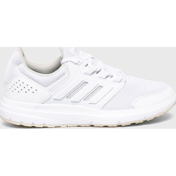bda19390 adidas - Buty Galaxy 4 - Białe obuwie sportowe damskie marki Adidas ...